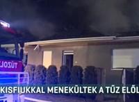 Kisfiukkal menekültek a tűz elől, lakhatatlanná vált a család otthona