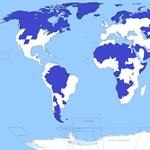 A nap képe: hihetetlen térkép a Föld népességéről
