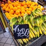 Egy hónap alatt 10 százalékkal drágultak a gyümölcsök