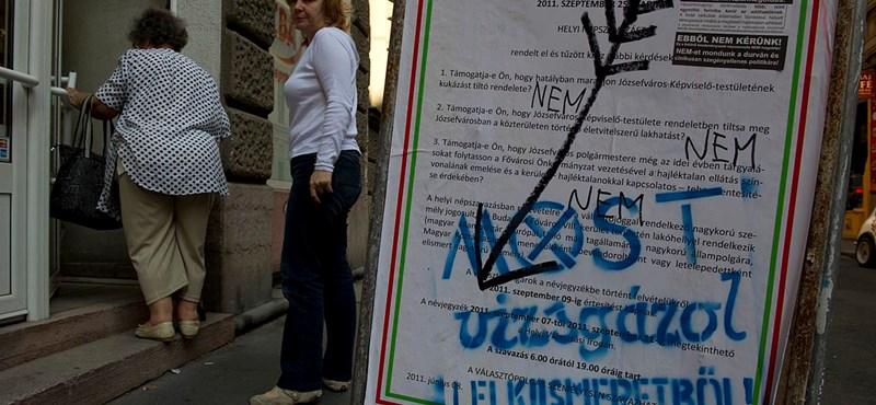 Pintérnek nem számít, hogy érvénytelen volt a józsefvárosi népszavazás