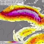Szokatlan jelenségeket tapasztaltak Európa felett - térképek
