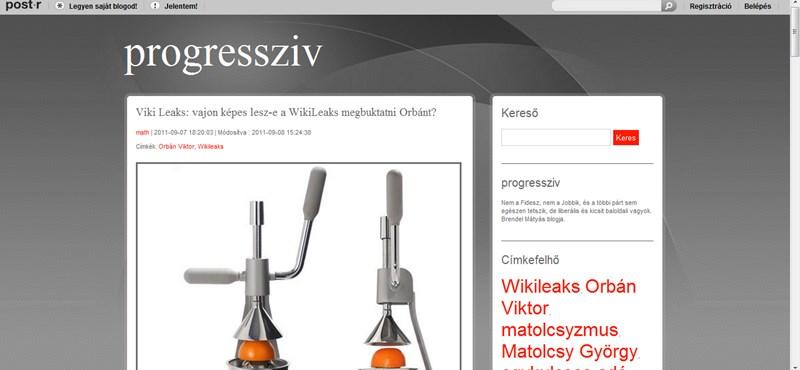 A WikiLeaks fogja megbuktatni Orbán Viktort?