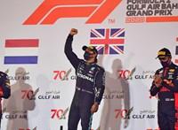 Hamilton győzelmével ért véget a rémisztő balesettel induló Bahreini Nagydíj