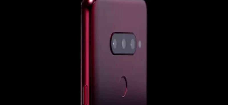 Vége a találgatásnak: az LG megmutatta 3+2 kamerás telefonját