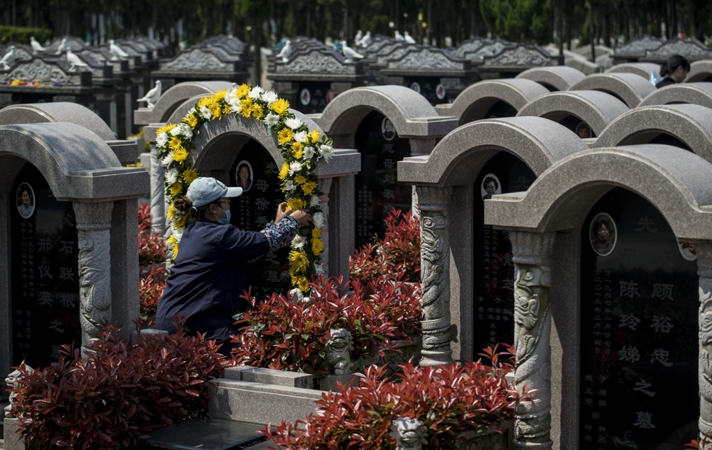 afp.17.04.04. Csingming fesztivál kínában.