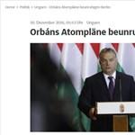 Orbánnak a Süddeutschében szólt be egy német miniszter