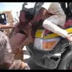 Videó Kadhafi utolsó perceiről: élve foghatták el