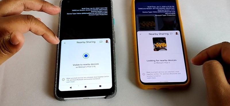Régóta várt funkció érkezett az Androidba, fájlokat oszthatunk meg vele