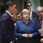Kényszerleszállást kellett végrehajtania Angela Merkel gépének