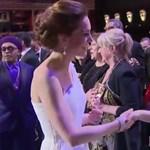 Egy hercegné és egy királynő, ha találkozik, mindent elvakít a ragyogásuk – videó