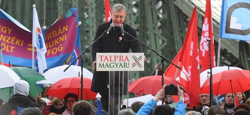 Gyurcsány elfogadta Vágó Gábor bocsánatkérését