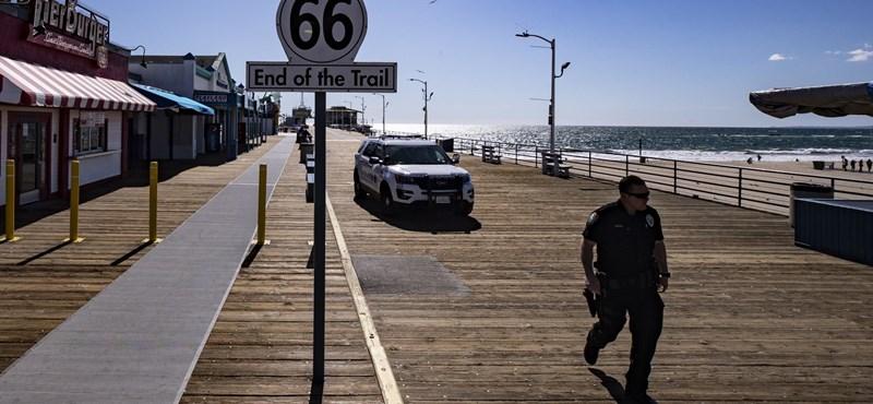 Zárlat alatt egész Kalifornia, senki nem hagyhatja el az otthonát