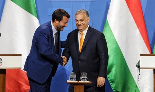 Orbán Viktor, Matteo Salvini és a haverok: marad a tagadás és a védekezés