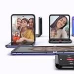 Végre üveg: bemutatta a Samsung az összecsukható Galaxy Z Flipet