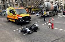 Meghalt egy motoros Újbudán