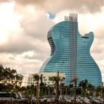 Gitár alakú szálloda nyílt Floridában