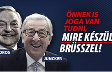 """Jean-Claude Juncker üzent a Brüsszelt támadóknak: """"Visszalövünk"""""""