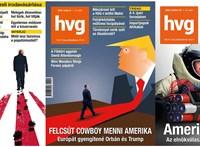 Véget ért a Trump-éra, emlékezzünk rá a HVG címlapjaival