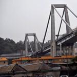 Gyönyörű híd épül a genovai katasztrófában összeomlott viadukt helyére
