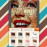 Készítsünk döbbenetes szófelhőket fotókból és szövegekből az iPhone-on
