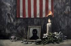 Banksy megrendítő alkotással refelektál George Floyd halálára