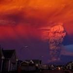 Elképesztő fotók a Calbuco vulkán mindenkit meglepő kitöréséről