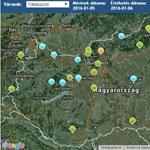 Egészségtelen a levegő Vácon, és 16 másik városban is baj van vele - térkép