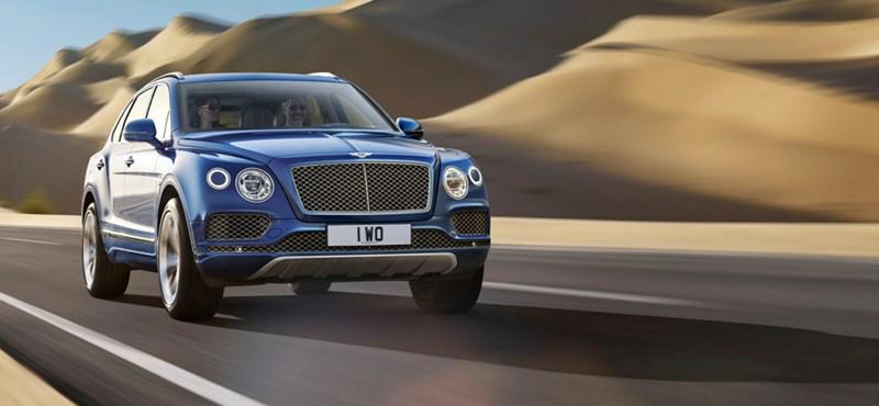 Nincs ennél feljebb: jön a Bentley 660 lóerős divatterepjárója