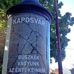 Somogyország fővárosának üzentek a kétfarkúak (és a HVG)