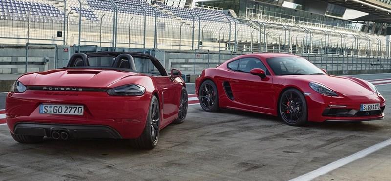 Még erősebb lett az olcsó kis Porsche, itt a 718 GTS