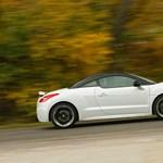 Peugeot RCZ THP 200 teszt: vissza a kifutóra
