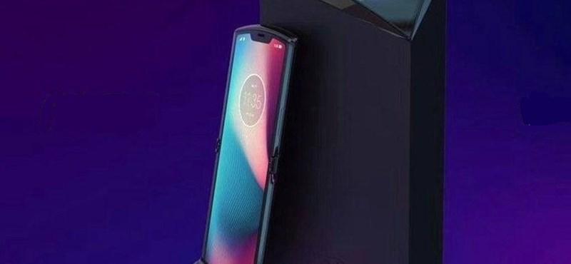 Nosztalgia és csúcstechnológia: ilyen lehet az összehajtható Motorola Razr