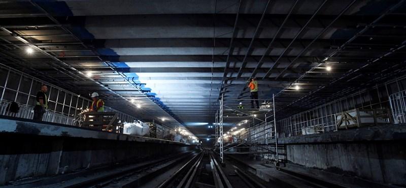 Ma adják át a 3-as metró felújított szakaszát