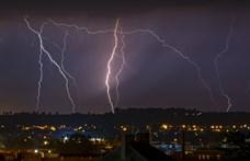 Marad a hőség, de kilenc megyében is viharok miatt adtak ki veszélyjelzést