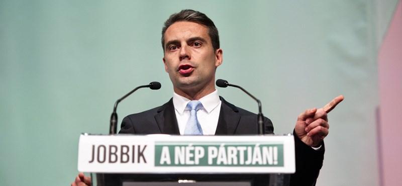 Vona: A Fidesz fél a Jobbiktól, ezért indított uszító kampányt
