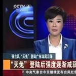 Csúszik a köztévé kínai híradója