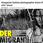 Nemzetközi össztűz után levette a netről migránsos divatképeit a magyar fotós
