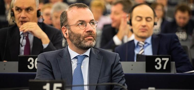 Manfred Weber: Nem kérünk kioktatást Orbántól