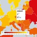 Tovább csúszott lefelé Magyarország a korrupciós világranglistán