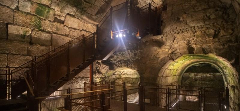 Se ha descubierto un impresionante edificio de 2.000 años de antigüedad junto al Muro de las Lamentaciones.