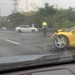 Ferrari 458 Italia és M3-as BMW csattant Tajvanon - fotók