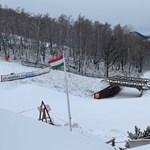 Több centi hó hullott Magyarországon