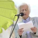 Emlékezzen Esterházyra az utolsó könyvheti beszédével – videó