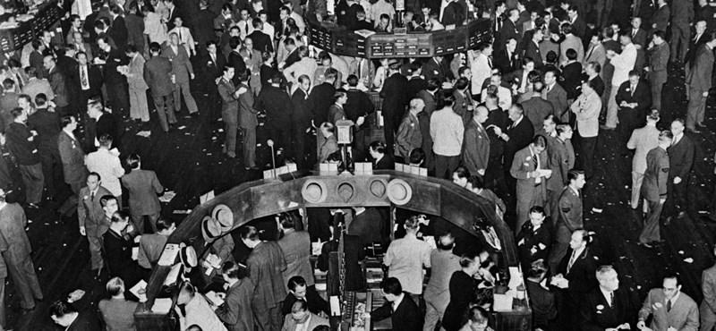 Kilencven éve omlott össze a világ gazdasága