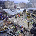 Hat nap után találtak túlélőt a Nairobiban összedőlt hétemeletes háznál