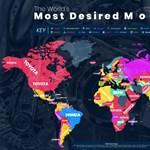 Ez egy fontos autós világtérkép – legalább is az autógyártók számára