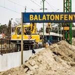 Azt ígérik, tíz perccel gyorsabban ér a vonat Budapestről Keszthelyre