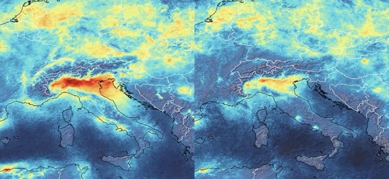 Drasztikus mértékben csökkent a légszennyezettség Olaszországban a koronavírus miatt