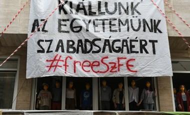 Figyelmeztő sztrájkot tartanak az SZFE dolgozói csütörtök délután