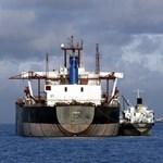 Dán áruszállító hajó először a világon útja során végig bioüzemanyagot használt